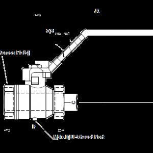 Шаровые краны Norgren (Германия) серия 6018 G1/4-G1 до 13Bar для воздуха
