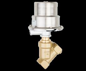 Седельные клапаны с пневматическим приводом Buschjost