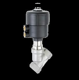 Седельные клапаны с пневматическим приводом Busсhjost серии 84520_84530