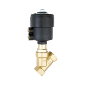 Седельные клапаны с пневматическим приводом Busсhjost серии 84500_84510